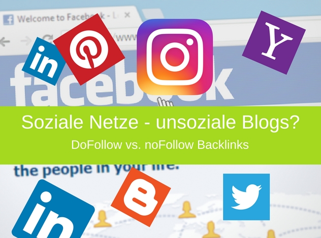 Dofollow-nofollow Backlinks in Blogs   Soziale Netze – unsoziale Blogs?