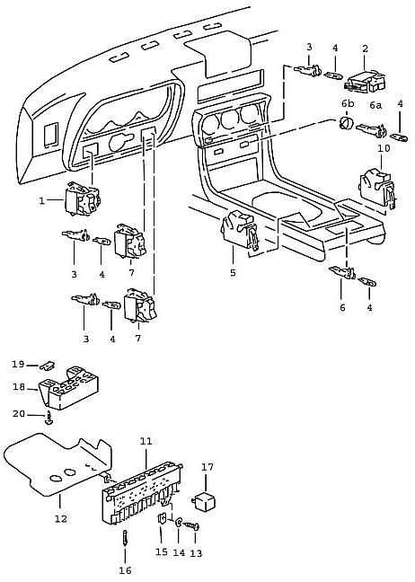 porsche fuel pump relay