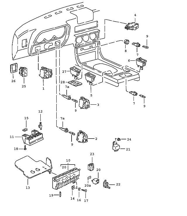 1989 porsche 944 fuse box diagram