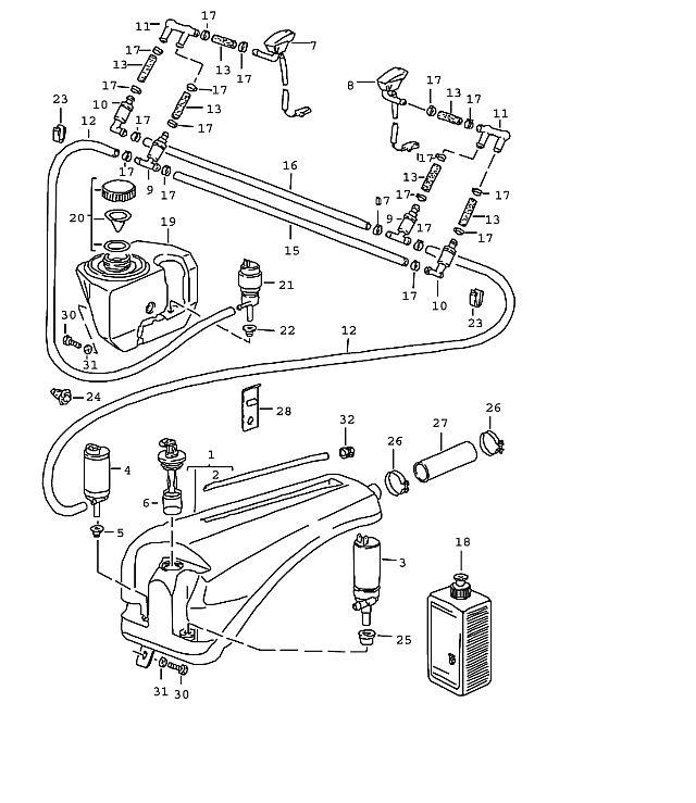 1986 porsche flat 6 engine diagram