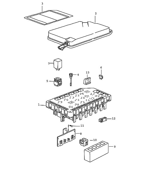 boxster engine diagram