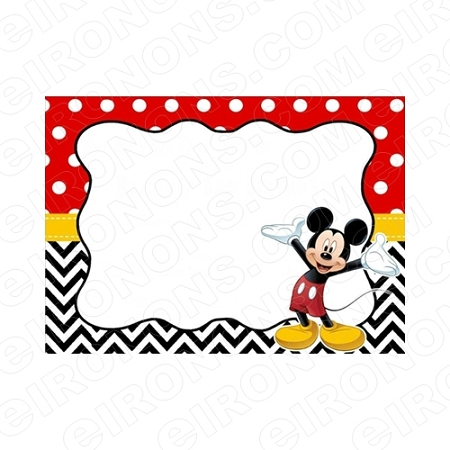 MICKEY MOUSE BLANK EDITABLE INVITATION INSTANT DOWNLOAD #IMM4 YOUR