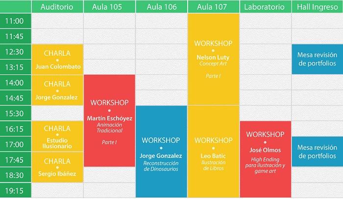 Ejemplo de cronograma de actividades