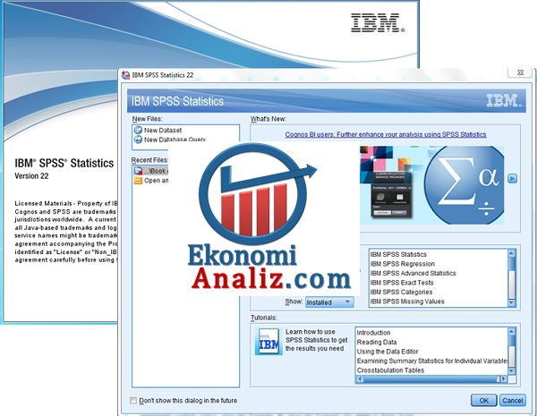 IBM SPSS 22 TAM SÜRÜM + TÜRKÇE KURULUM (Resimli Anlatım)