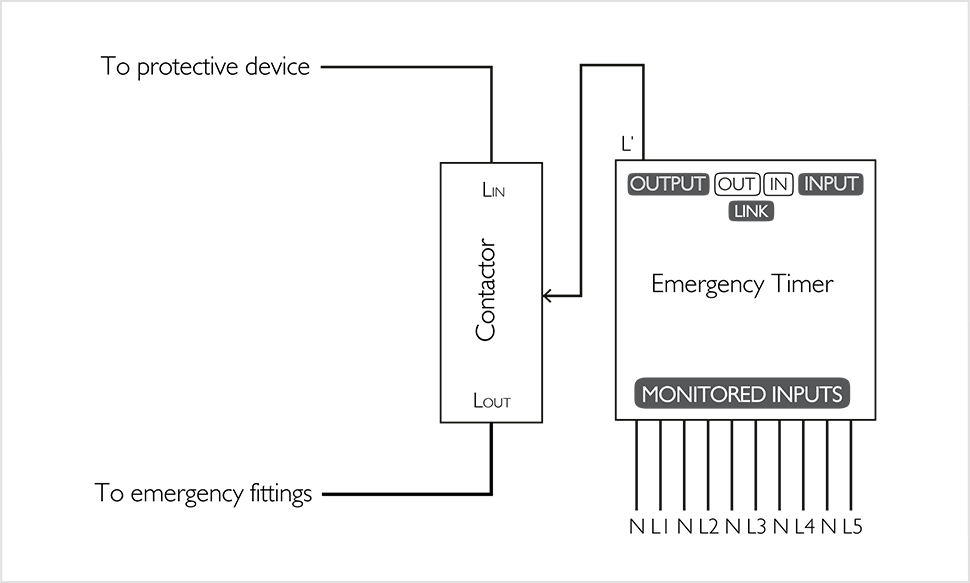 hager emergency light test wiring diagram