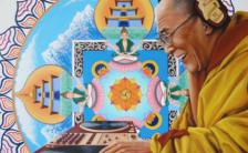 His Hoiliness Dalai lama So Big News !!   ダライ・ラマ法王がロックフェスティバルでDJ?