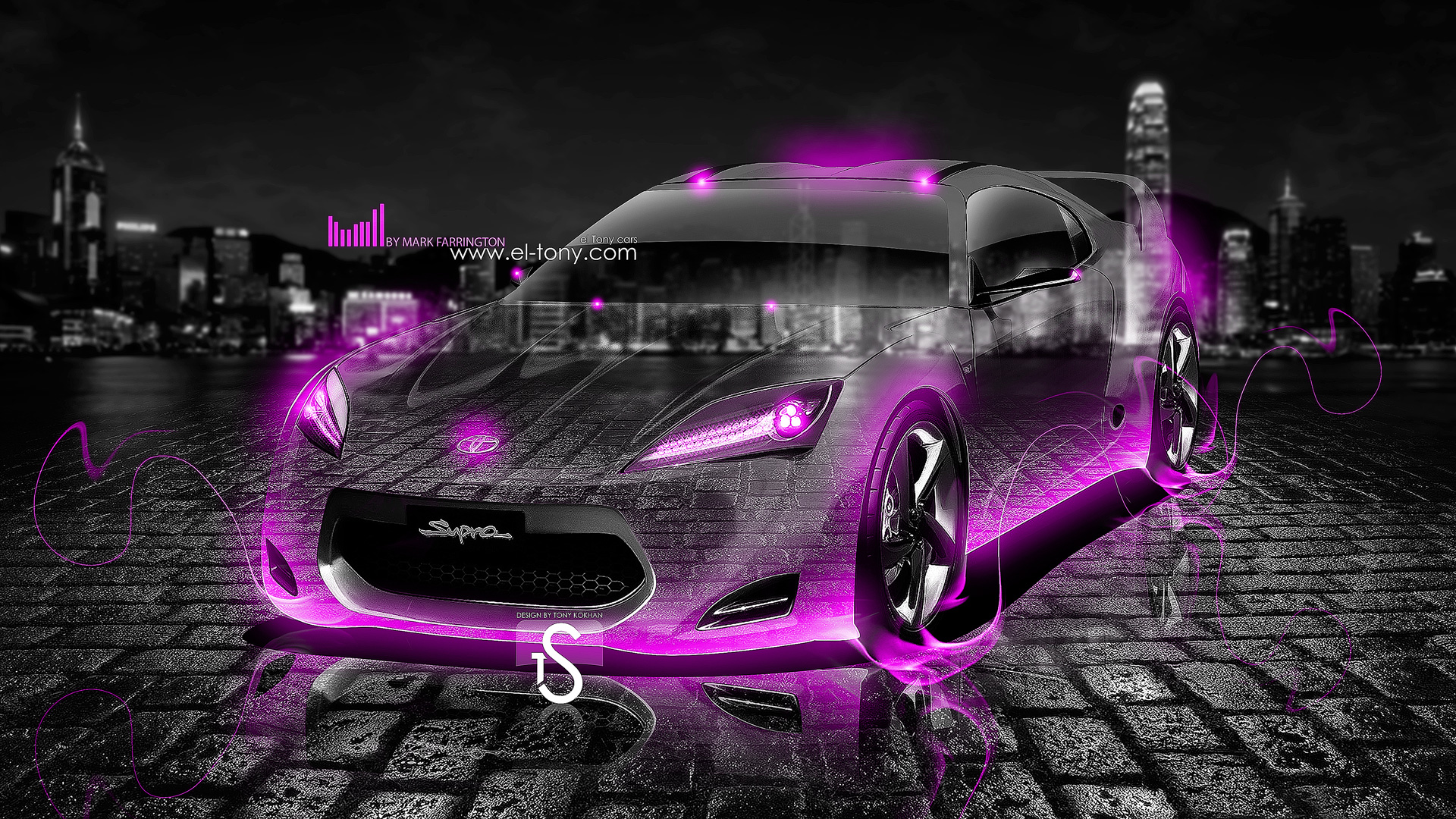 Zedge Car Wallpapers New Toyota Supra Crystal Fire Car 2013 El Tony