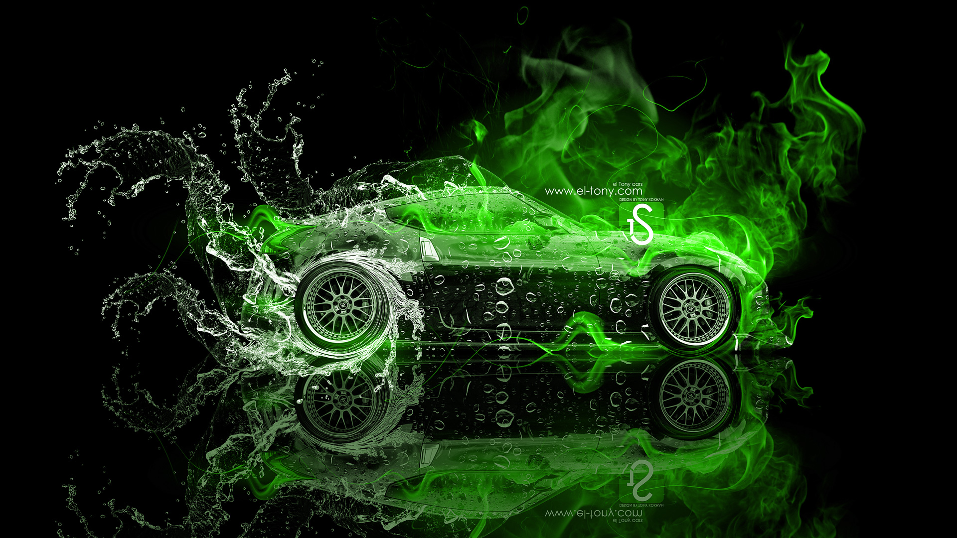 Amazing Car Wallpapers For Desktop Nissa Skyline R34 Gtr Nissan 370z Jdm Fire Water Car 2013 El Tony