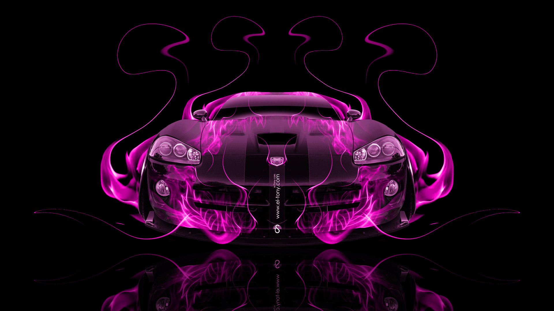 Iphone 6 Plus Muscle Car Wallpaper Dodge Viper Srt Front Fire Abstract Car 2014 El Tony