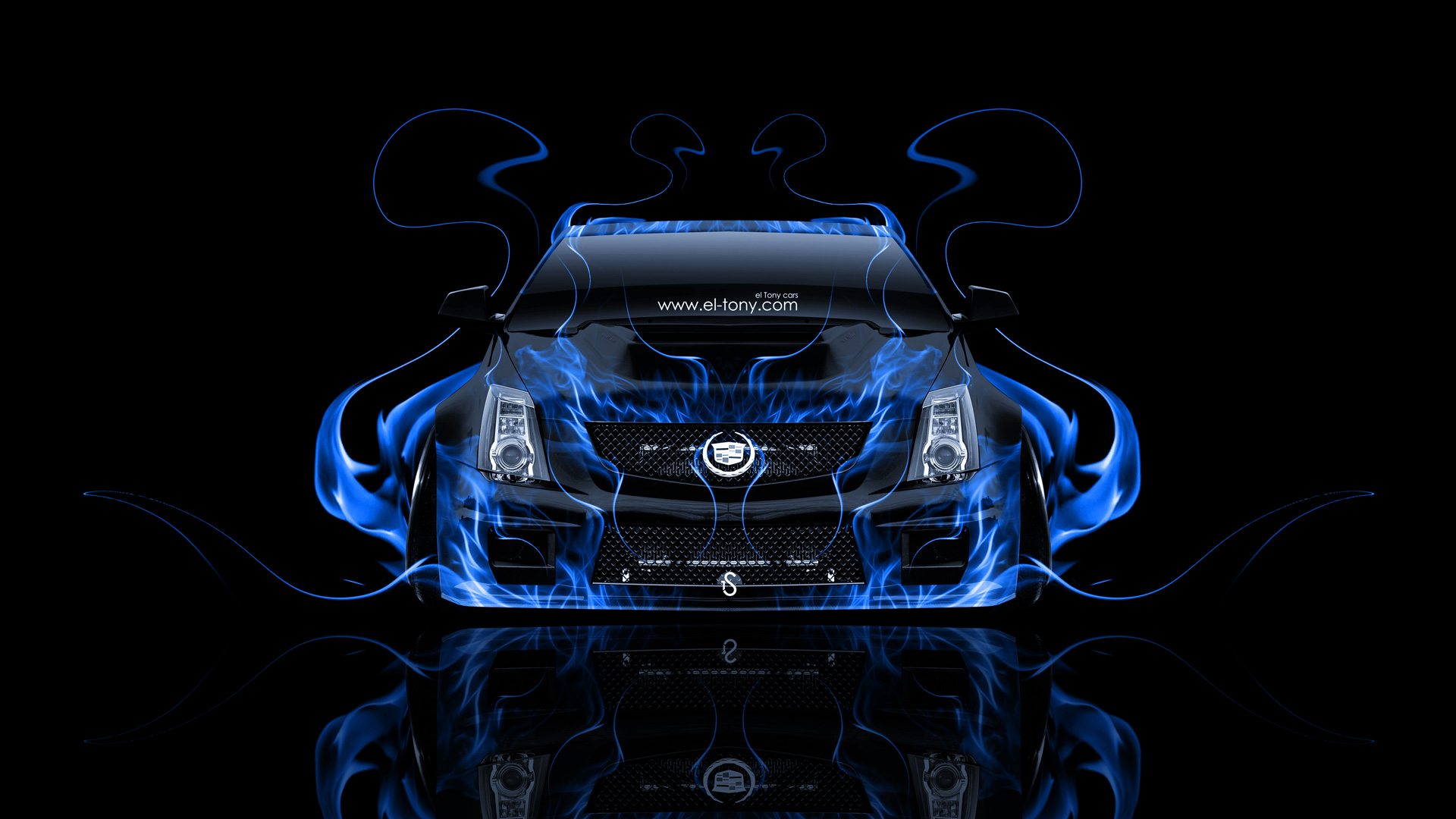 Black And Blue Cars 4k Wallpaper Cadillac Cts V Hennessey Tuning Front Fire Car 2014 El Tony
