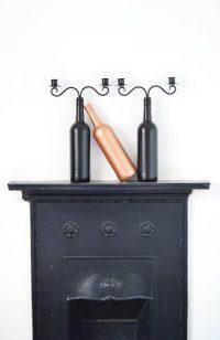 DIY Wine Bottle Candle Holder | Ela BellaWorld
