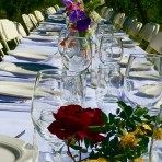Saturday Night  Dinner in the Orchard  – 2017