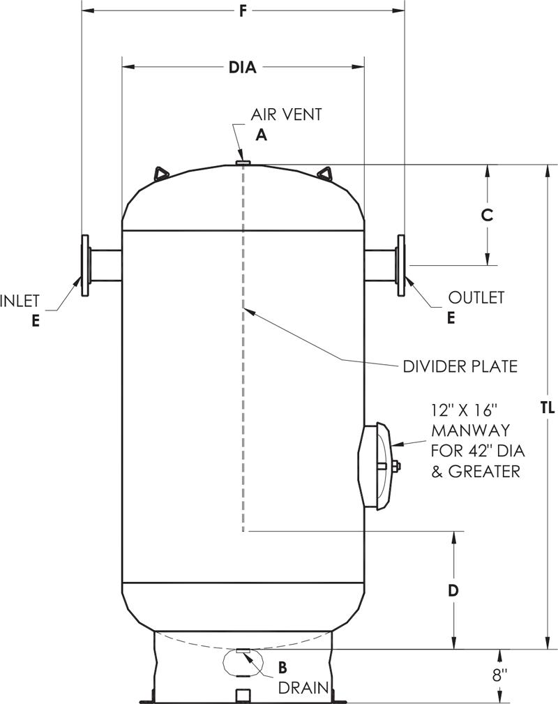 air receiver tank schematic