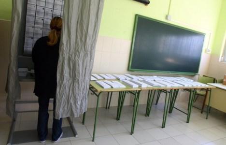 Colegio electoral en lapasada  jornada de elecciones al Parlamento Europeo (C.Sánchez/Ical)