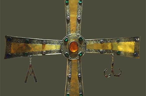 Imagen de la Cruz de Peñalba