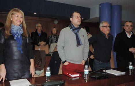 Concejales del PP en la sesión plenaria celebrada este viernes 30 de enero
