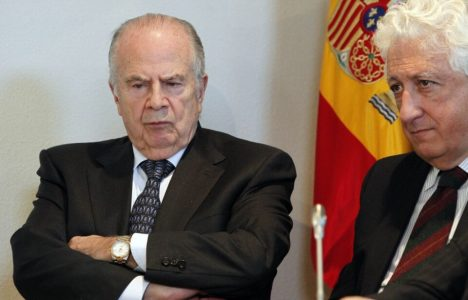 Amoedo presentó hoy su informe en Madrid ante la defensora del Pueblo (Juan Lázaro / Ical)