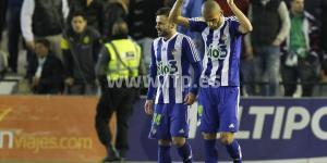 Yuri celebra el tanto del empate ante el Betis (LFP)