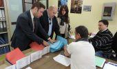 Los responsables de la Coalición presentan las candidaturas en La Junta Electoral