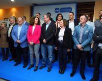 Acto de presentación de las candidaturas al que asisitó Antonio Silván (C.Sánchez)