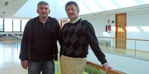 Los alcaldes de Igüeña y Páramo del Sil (César Sánchez / Ical)