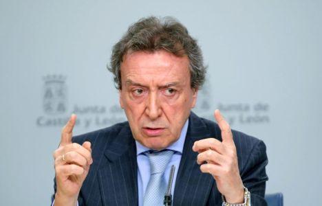 El consejero de la Presidencia y portavoz de la Junta en funciones, José Antonio de Santiago (Rubén Cacho)