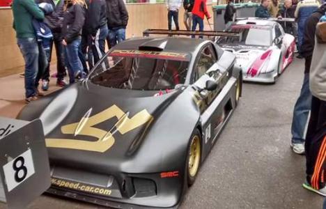 El Speed Car de Juan Castillo, en Vega de Espinareda (@ToranzoWRC)