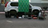 Imagen de algunos de los objetos incautados por la Guardia Civil