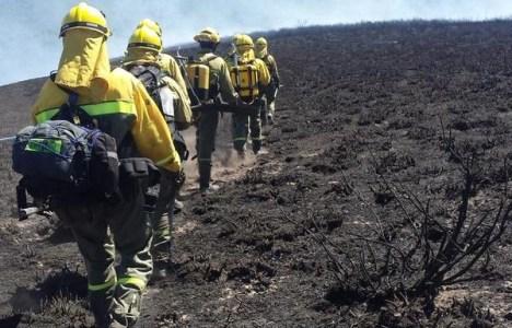 La Brif Tabuyo desplazándose por la tierra quemada de Candín