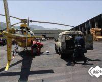 Efectivos de rescate en la mina