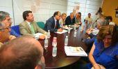 La reunión de la vicepresidenta con los alcaldes tuvo lugar en la delegación de la Junta (César Sánchez)