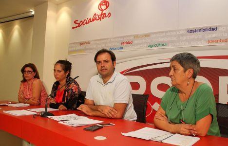 Tino Rodríguez presentó las enmiendas hoy en León (Peio García)