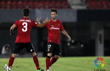 Arana hizo el gol de la victoria bermellona desde el punto de penalti (LFP)