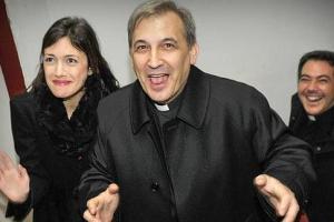 Ángel Lucio Vallejo Balda en una imagen de archivo junto a  Francesca Chaouqui (ABC)