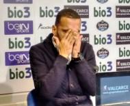 Yuri rompe a llorar durante su despedida de la Ponferradina.