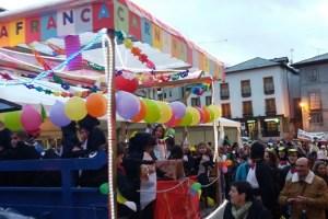 Imagen del desfile de Villafranca del Bierzo.