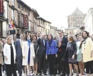 Inauguración de Las Edades del Hombre 2016 'Aqva', presidida por S.M. la Reina Dª Sofía. Asiste el presidente de la Junta de Castilla y León, Juan Vicente Herrera. (Foto: Leal)