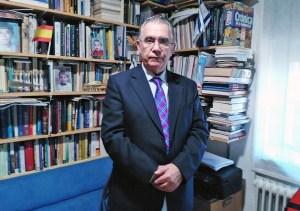 El coordinador del Centro de Documentación Moisés de León, Isaac Benabraham (Ical)