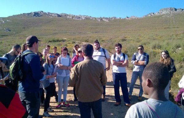 Imagen de la visita a Tabuyo del Monte.