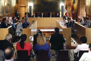 Un momento de la sesión plenaria (Carlos S. Campillo)