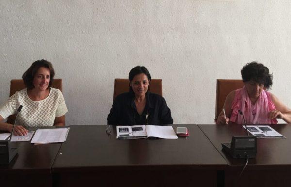 Presentación del taller de alfabetización digital con  Angélica Cosmen, Olga Santiago y María Isabel Fernández