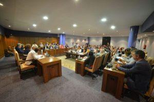 Imagen del Pleno Extraordinario de este viernes. / QUINITO