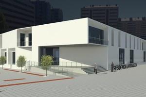 Prototipo de cómo quedará el edificio al término de las obras.