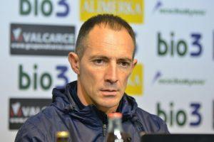 El entrenador de la Deportiva, Pedro Munitis. / QUINITO