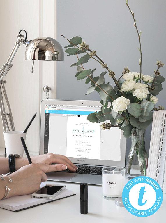 23 Invitaciones de Boda para Imprimir tú mism@ El Blog de una Novia