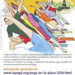 """Clase de yoga abierta en Málaga: """"Yoga en la Plaza"""""""