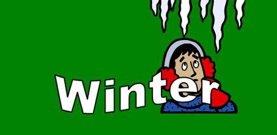 ESL Lesson Winter Vocabulary