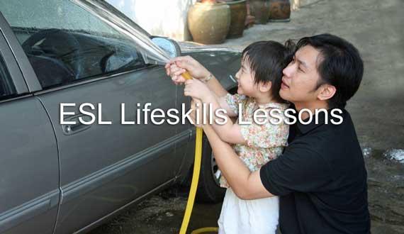 ESL Life Skills Lessons - Daily Living Skills - esl powerpoint lesson