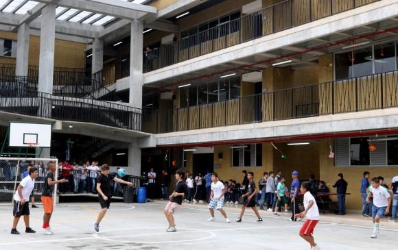 La lúdica y el deporte son vitales para fortalecer la educación de los niños y jóvenes. Las modernas instalaciones también cuentan con aulas para 40 alumnos y restaurante. FOTOS Julio C. herrera.