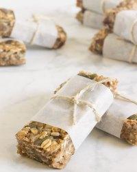 Barritas de granola saludables
